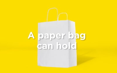 The advantages of the paper bag