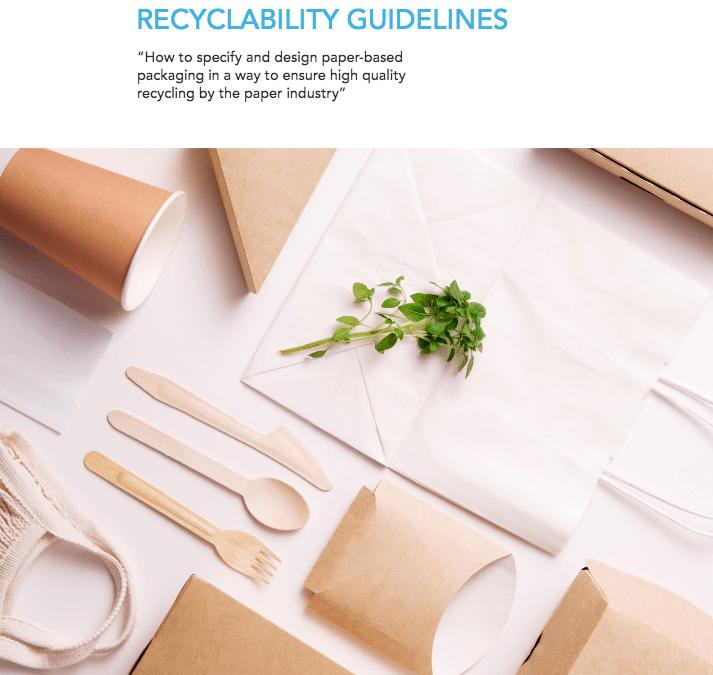 Linee Guida riciclabilità imballaggi cellulosici